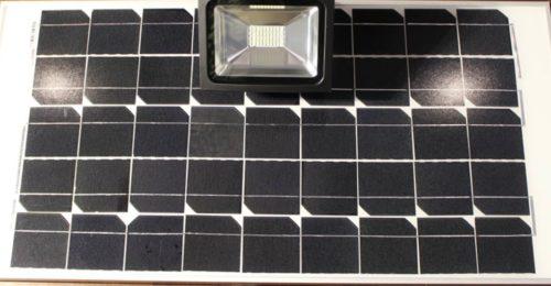 Fari con pannello solare