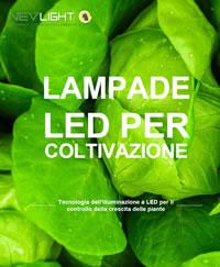 Lampade LED per coltivazione